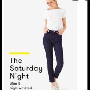 Kate Spade Saturday Cropped denim jeans size 24